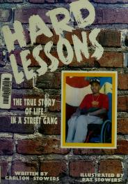 Cover of: Hard lessons   Carlton Stowers